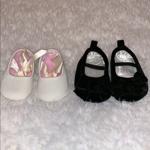 0/3 Month Baby Girl Shoes Bundle